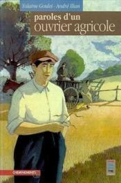 Paroles D'Un Ouvrier Agricole - Couverture - Format classique