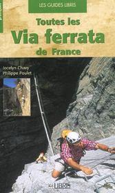 Toutes les via ferrata de France - Intérieur - Format classique