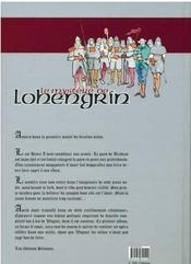 Le mystère de lohengrin - 4ème de couverture - Format classique