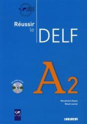 Réussir le DELF A2 (édition 2010) - Couverture - Format classique
