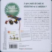 Boîte à jeux de récréation - 4ème de couverture - Format classique