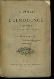 L'Eloquence A Rome Au Temps Des Cesars. - Couverture - Format classique