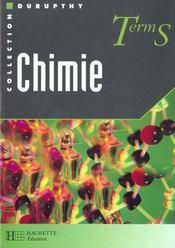 Chimie Terminale S - Intérieur - Format classique