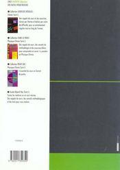 Chimie Terminale S - 4ème de couverture - Format classique