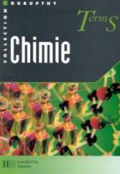 Chimie Terminale S - Couverture - Format classique