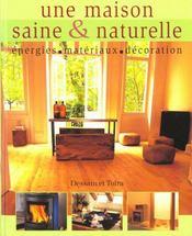 Une maison saine & naturelle - Intérieur - Format classique