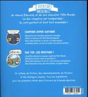 Les aventures d'Edouard et son chevalier Tête-ronde T.1 ; camping super sauvage ; pas top, les griffons ! - 4ème de couverture - Format classique