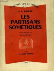 Les Partisans Sovietiques - Collection Fenetres Sur Le Monde 4. - Couverture - Format classique