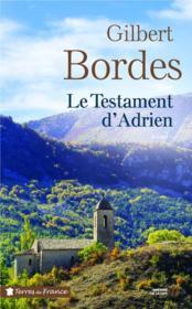 Le testament d'Adrien - Couverture - Format classique