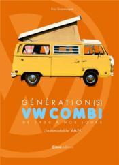 Combi van Volkswagen - Couverture - Format classique