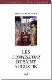 Les confessions de saint augustin - Couverture - Format classique