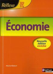 Économie ; terminale STG ; livre de l'élève (édition 2008) - Intérieur - Format classique