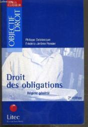 Droit des obligations ; regime general ; 2e edition - Couverture - Format classique