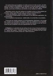 Cours De Wushu - 4ème de couverture - Format classique