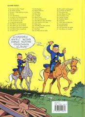 Les tuniques bleues t.22 ; des bleus et des dentelles - 4ème de couverture - Format classique