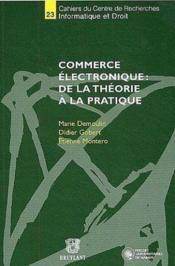 Commerce electronique : de la theorie a la pratique - Couverture - Format classique