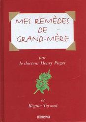 Mes Remedes De Grand-Mere - Intérieur - Format classique