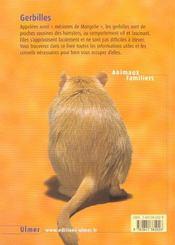 Gerbilles - 4ème de couverture - Format classique