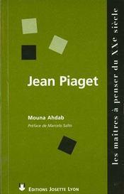 Jean Piaget - Intérieur - Format classique