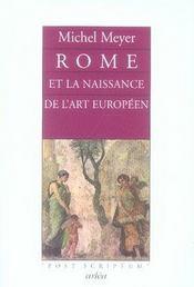Rome et la naissance de l'art européen - Intérieur - Format classique