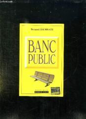 Banc Public - Couverture - Format classique