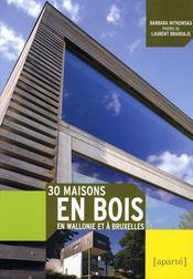 30 maisons en bois - Intérieur - Format classique