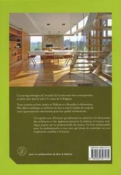 30 maisons en bois - 4ème de couverture - Format classique