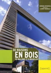 30 maisons en bois - Couverture - Format classique