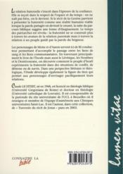 Revue Connaitre La Bible N.60 ; De La Fratrie A La Fraternité Avec Moïse Et Aaron Les Frères Amis - 4ème de couverture - Format classique