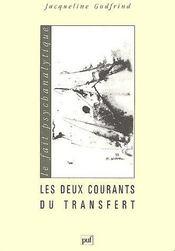 Les deux courants du transfert - Couverture - Format classique
