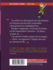 Mystères au donjon t.4 ; la forêt de l'étrange - 4ème de couverture - Format classique
