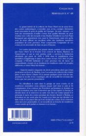 Le Zmeu dupé et autres contes transylvaniens - 4ème de couverture - Format classique