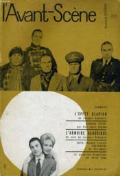 L'AVANT-SCENE - FEMINA-THEATRE N° 205 - L'EFFET GLAPION de JACQUES AUDIBERTI - Couverture - Format classique