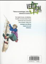 Vertical t.11 - 4ème de couverture - Format classique