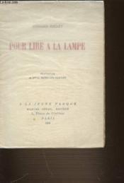 Pour Lire A La Lampe - Couverture - Format classique