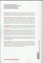 Carnet de route ; écrits littéraires - 4ème de couverture - Format classique