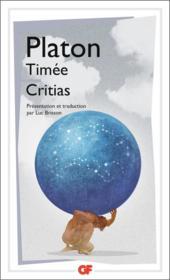 Timée ; Critias - Couverture - Format classique