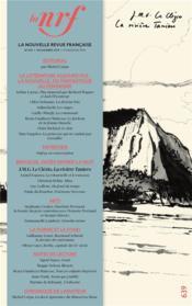 La nouvelle revue francaise N.639 ; novembre 2019 - Couverture - Format classique