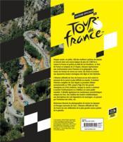 L'histoire officielle du Tour de France - 4ème de couverture - Format classique