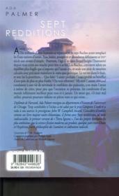 Terra ignota T.2 ; sept redditions - 4ème de couverture - Format classique