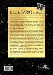 Le tour du tarot en 78 jours ; un voyage personnel au travers des cartes - 4ème de couverture - Format classique