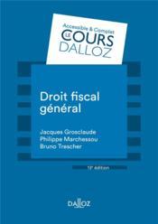 Droit fiscal général - Couverture - Format classique
