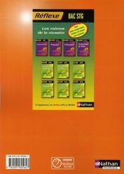 Droit ; terminale STG ; livre de l'élève (édition 2008) - 4ème de couverture - Format classique