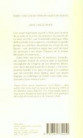 Oran, Langue Morte Babel 505 - 4ème de couverture - Format classique