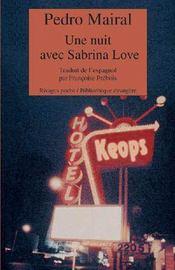 Une Nuit Avec Sabrina Love - Intérieur - Format classique