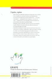 Lettre Du Grape N.55 ; Copains Copines - 4ème de couverture - Format classique
