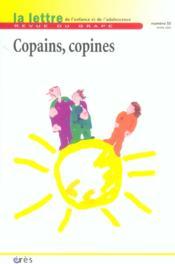 Lettre Du Grape N.55 ; Copains Copines - Couverture - Format classique