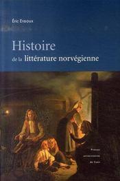 Histoire de la littérature norvégienne - Intérieur - Format classique
