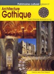 L'architecture gothique - Couverture - Format classique