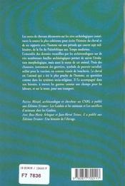 L'archeologie du cheval - 4ème de couverture - Format classique